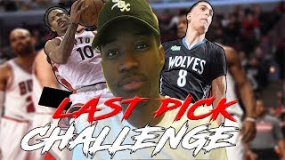 LAST PICK IN A FANTASY DRAFT REBUILDING CHALLENGE | NBA 2K18