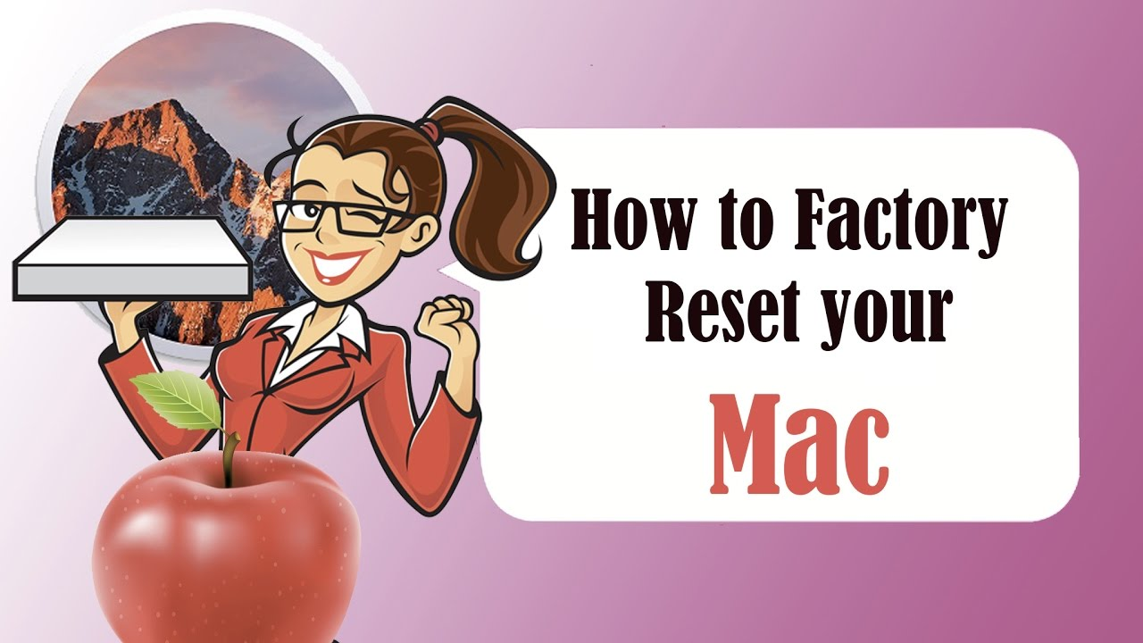 how to factory reset macbook and keep itunes