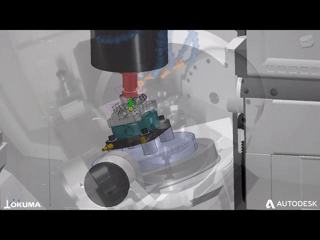 Partners in Thinc Manifold | In Partnership with Okuma and Iscar MU4000V