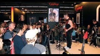 "Jeff Waters [ANNIHILATOR] ""Never Neverland"" @ Musikmesse Frankfurt 2010"
