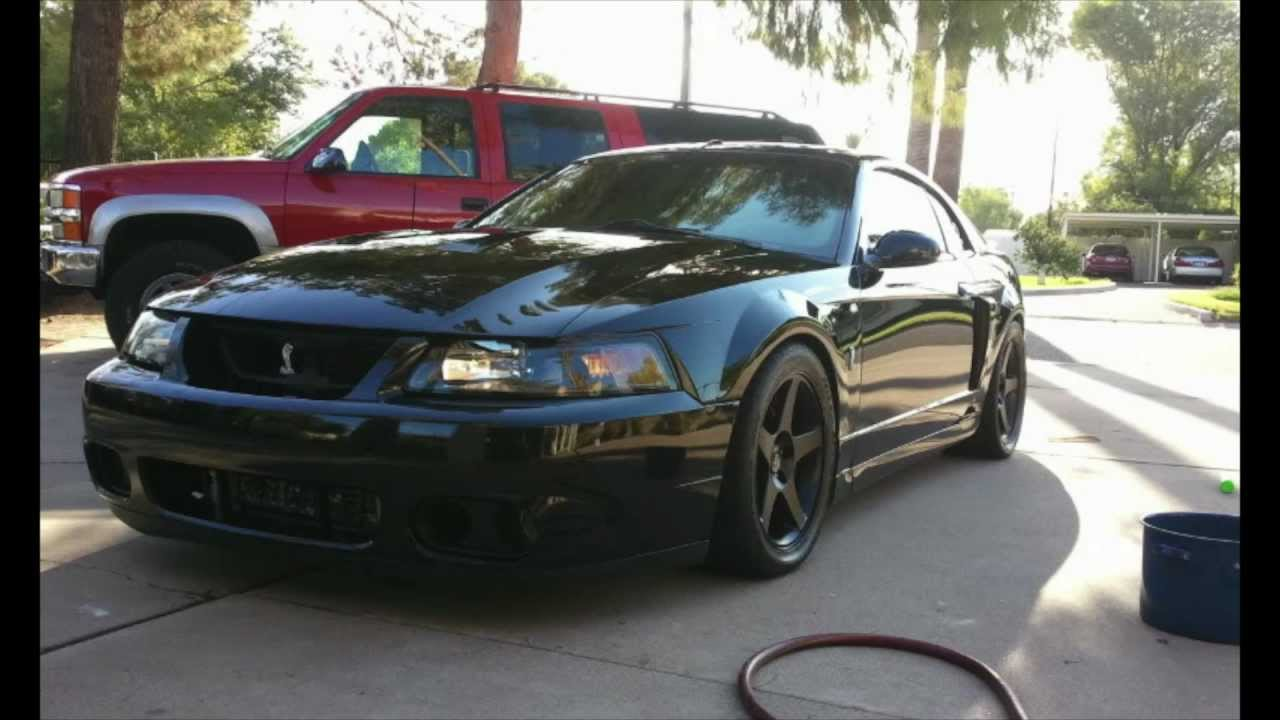 How a 2003 mustang cobra gets clean