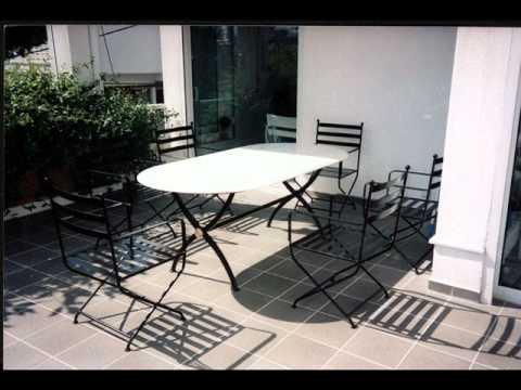 Salottini in ferro battuto arredo giardino milano youtube for Arredo giardino in ferro
