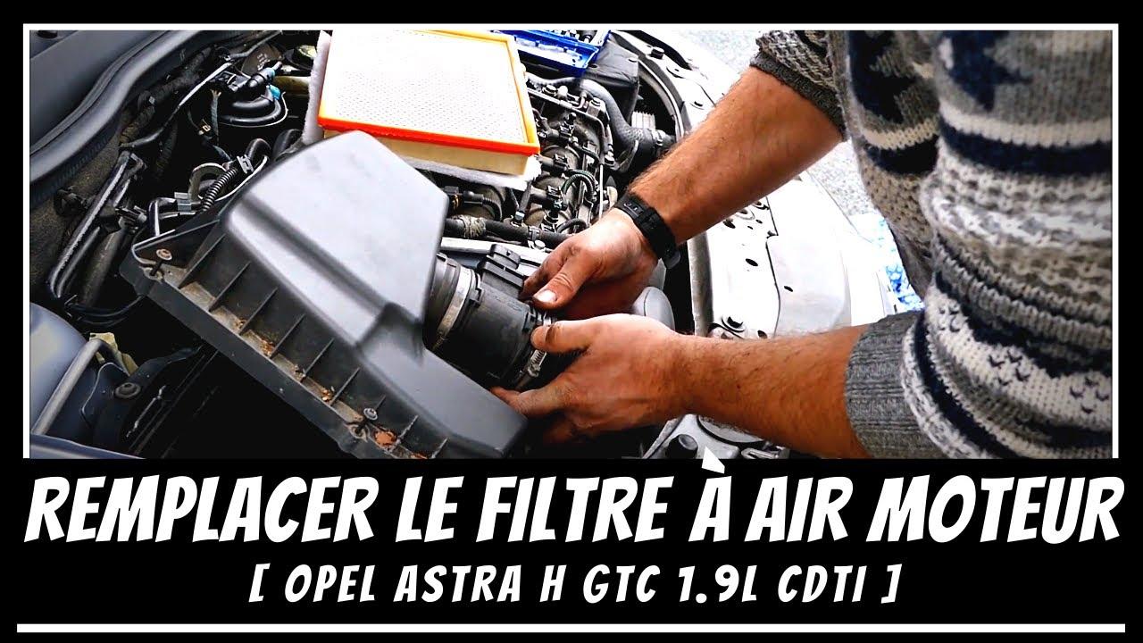 Filtre à air Opel Astra Zafira