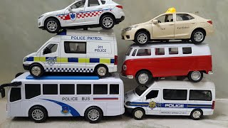 Cars for Kids Review and Play Police Cars, Texi Cars, Bus Police Video for Kids