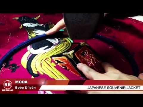 RR NOTICIAS con Bobe D´león - Japanese Souvenir Jacket