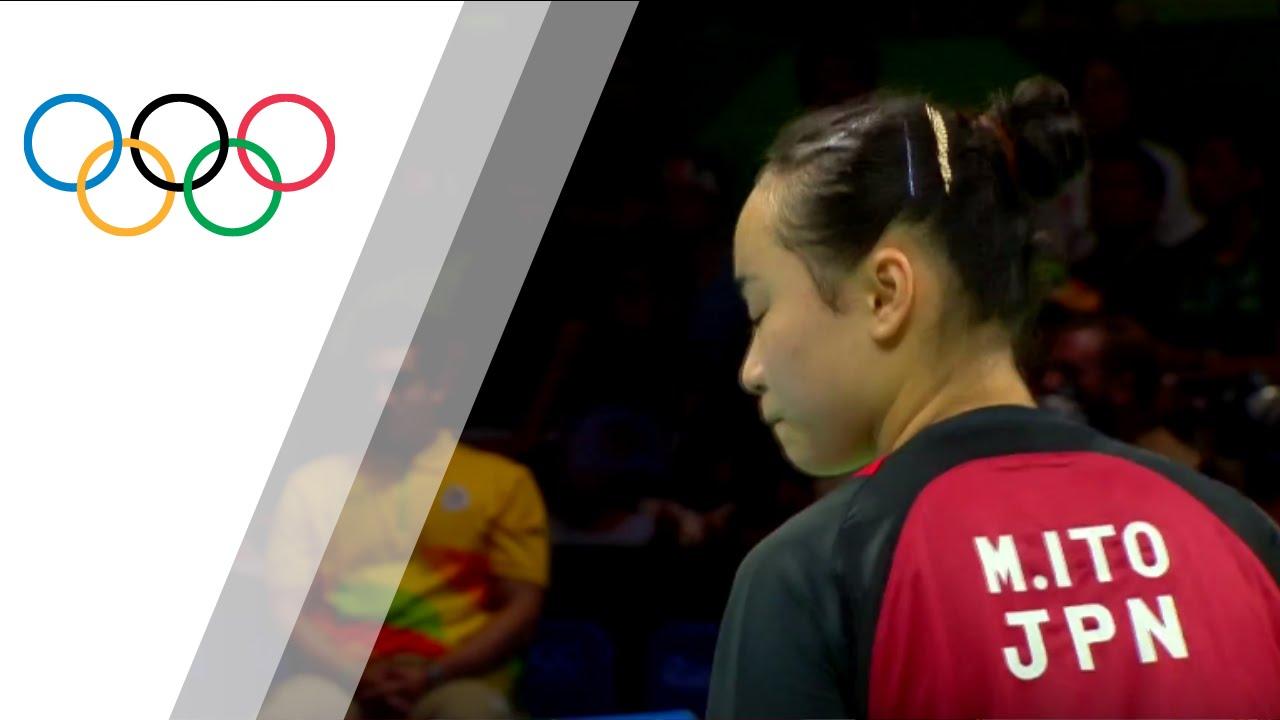 Japan\'s Women\'s Table Tennis Team takes bronze - YouTube