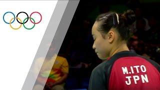 Japan's Women's Table Tennis Team takes bronze