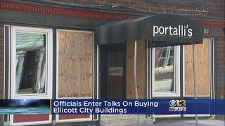 Officials Enter Talks On Buying Ellicott City Building