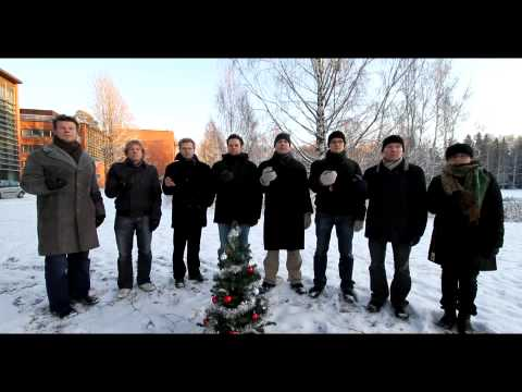 Helsinki Mobile Phone Orchestra playing Christmas Bells
