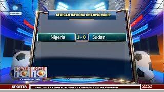 Video Gol Pertandingan Sudan vs Nigeria