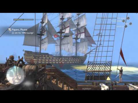 Assassin's Creed 4 - Naval Contract - Papers Please Walkthrough