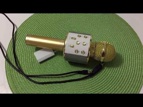 Как зарядить микрофон