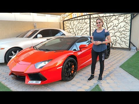 Driving the Lamborghini Aventador !!!