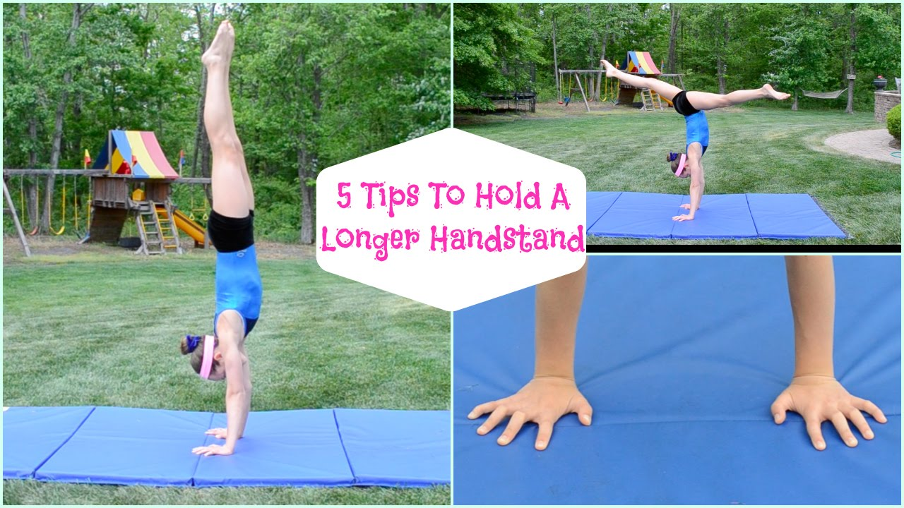 How to Hold a Handstand on the Beam