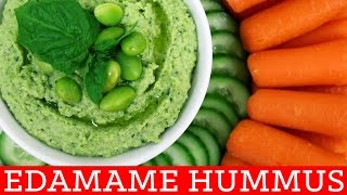 Edamame Hummus! Healthy Recipe - Thirty Second Thursdays by Mind Over Munch