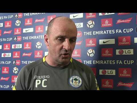 "PAUL COOK: ""The group were excellent and deserve great credit."""