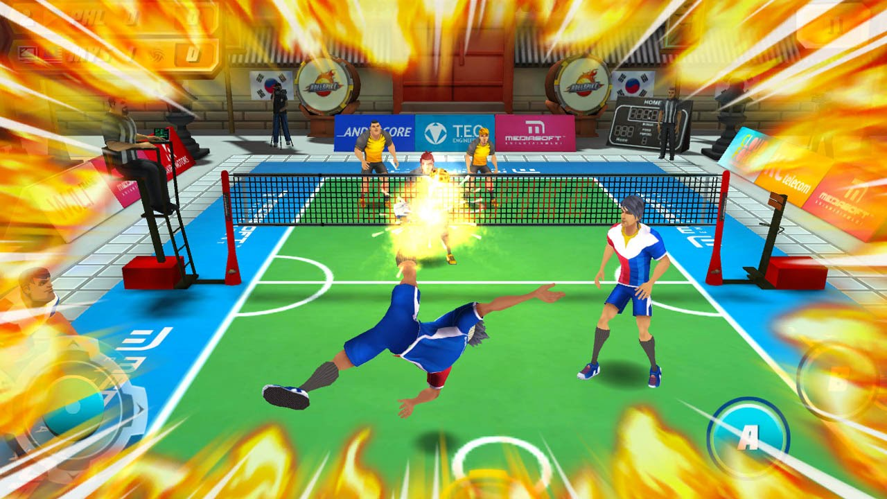Roll Spike Sepak Takraw Android Gameplay