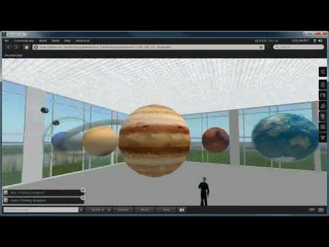 3D Virtual Solar System Model | How To Save Money And Do ...