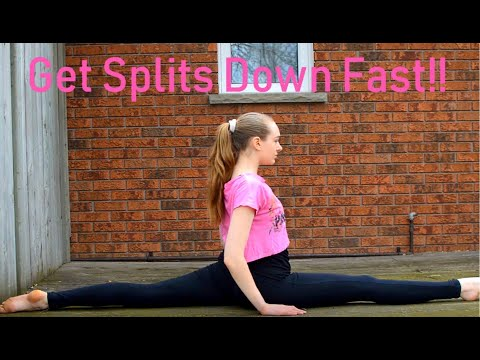 3 Easy Stretches to Get Your Splits Fast! - YouTube