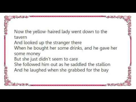 Chris LeDoux - Red Headed Stranger Lyrics