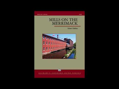 Mills on the Merrimack by Robert Sheldon