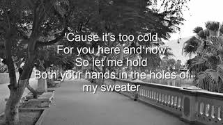 sweater weather edit james harris lyrics