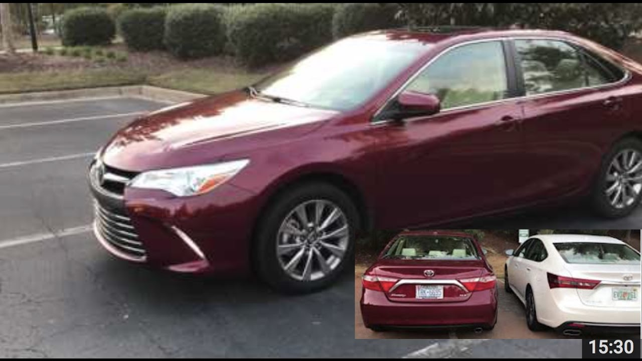 2017 toyota camry compared to avalon review is the avalon worth it youtube. Black Bedroom Furniture Sets. Home Design Ideas