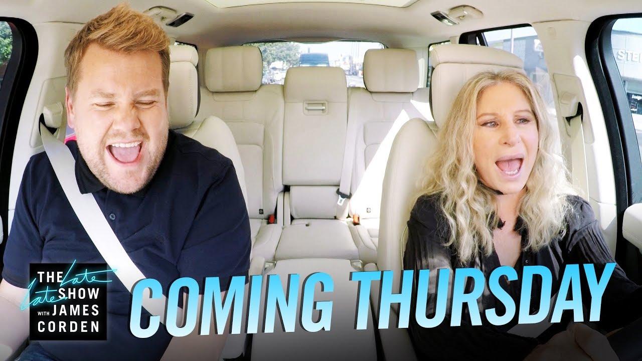Barbra Streisand Carpool Karaoke Was First Time Singing Out Loud