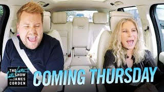 Coming Thursday: Barbra Streisand Carpool Karaoke