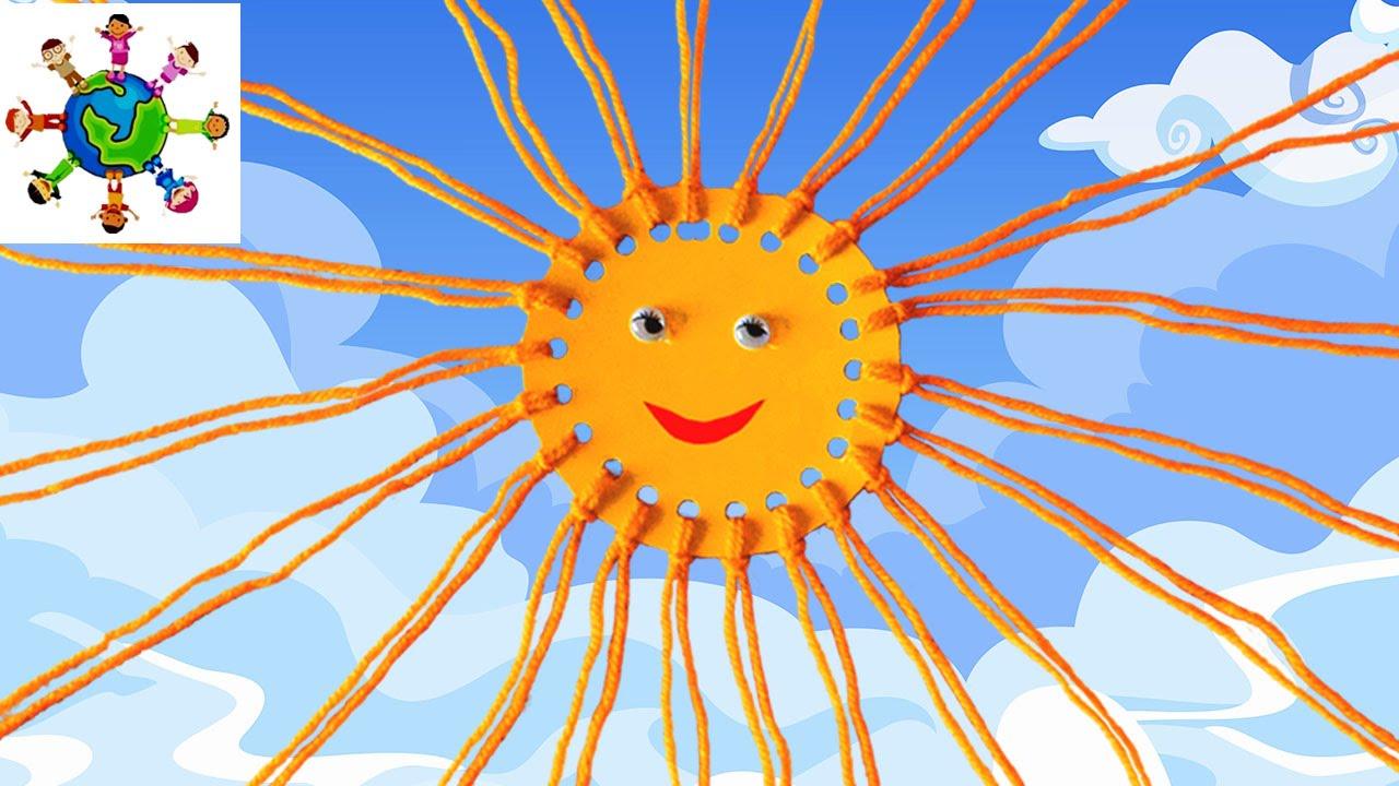 Солнышко своими руками из ниток фото 882