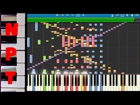 IMPOSSIBLE REMIX - Like I'm Gonna Lose You - Meghan Trainor ft. John Legend - Synthesia Cover