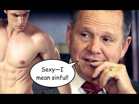 Roy moore gay execution