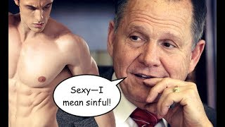 GOP Senate Candidate Roy Moore Says Gay Marriage is Worse Than Slavery