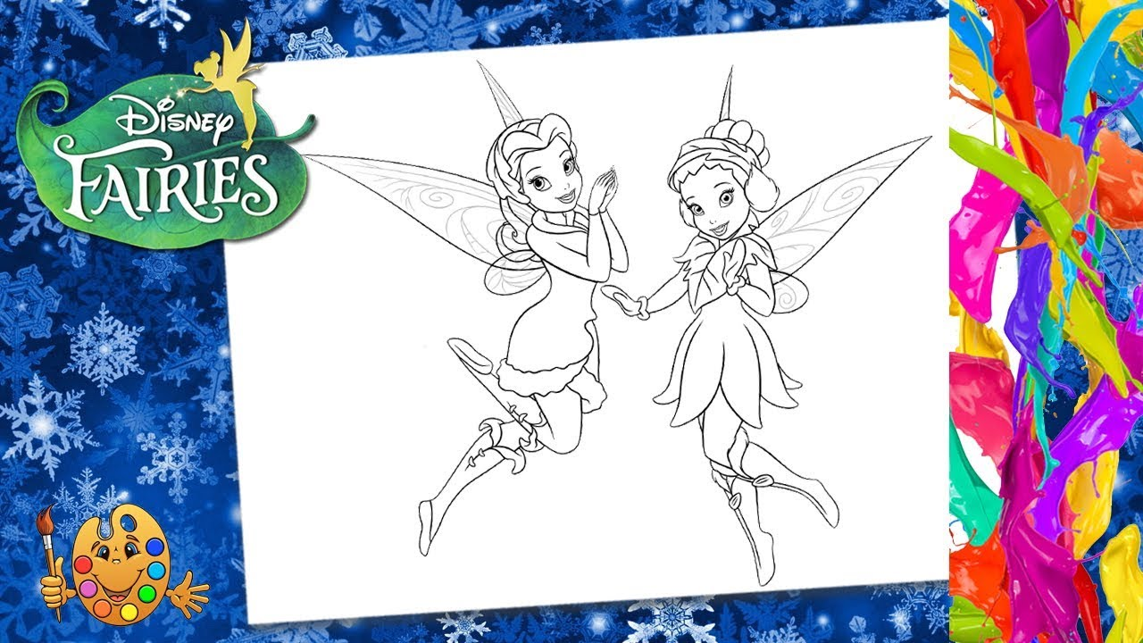 Printable Disney Fairies Coloring Pages | ColoringMe.com | 720x1280