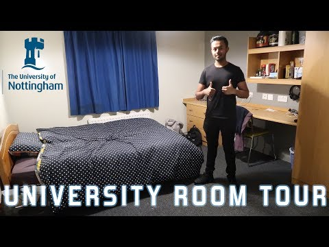 First Year University Room Tour 2018 UK - University Of Nottingham