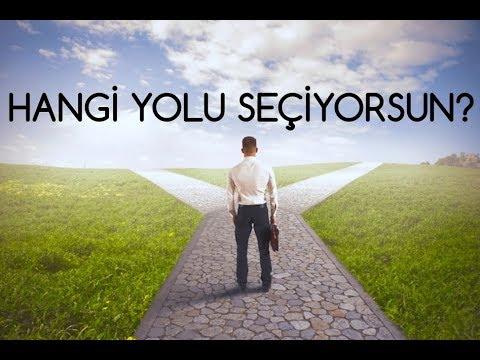Kişilik Testi -3- SEÇTİĞİNİZ YOL Kişiliğinizi Gösterecek