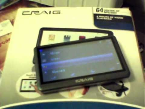 How Do You Download Music/Movies Onto A Craig MP3 Player?