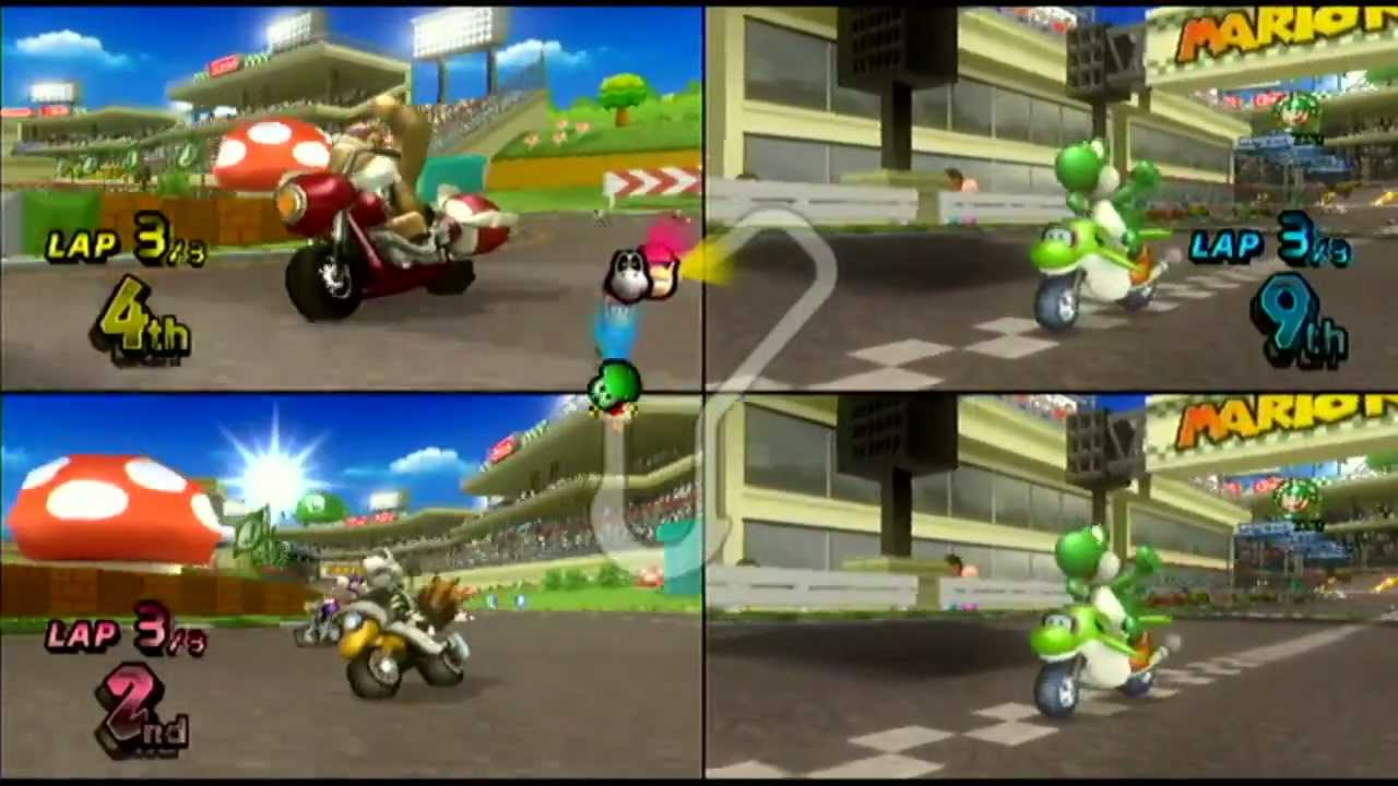 wii have fun 51 mario kart wii game 6 youtube. Black Bedroom Furniture Sets. Home Design Ideas