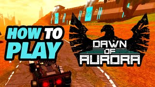 How to Play Dąwn of Aurora Roblox
