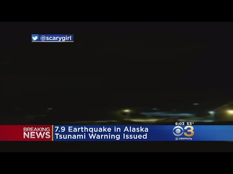 Alaska Earthquake Prompts Tsunami Warning