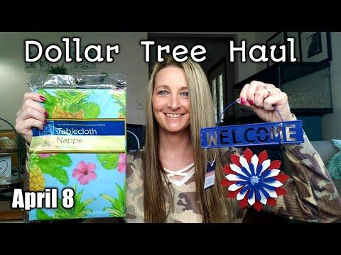 Dollar Tree Haul |  New Items/ April 8th