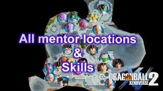 Dragon ball xenoverse 2- all mentor locations and skills