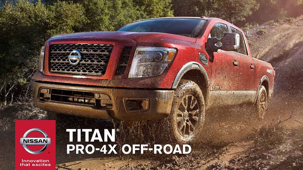 2017 nissan titan pro 4x the ultimate off road truck. Black Bedroom Furniture Sets. Home Design Ideas
