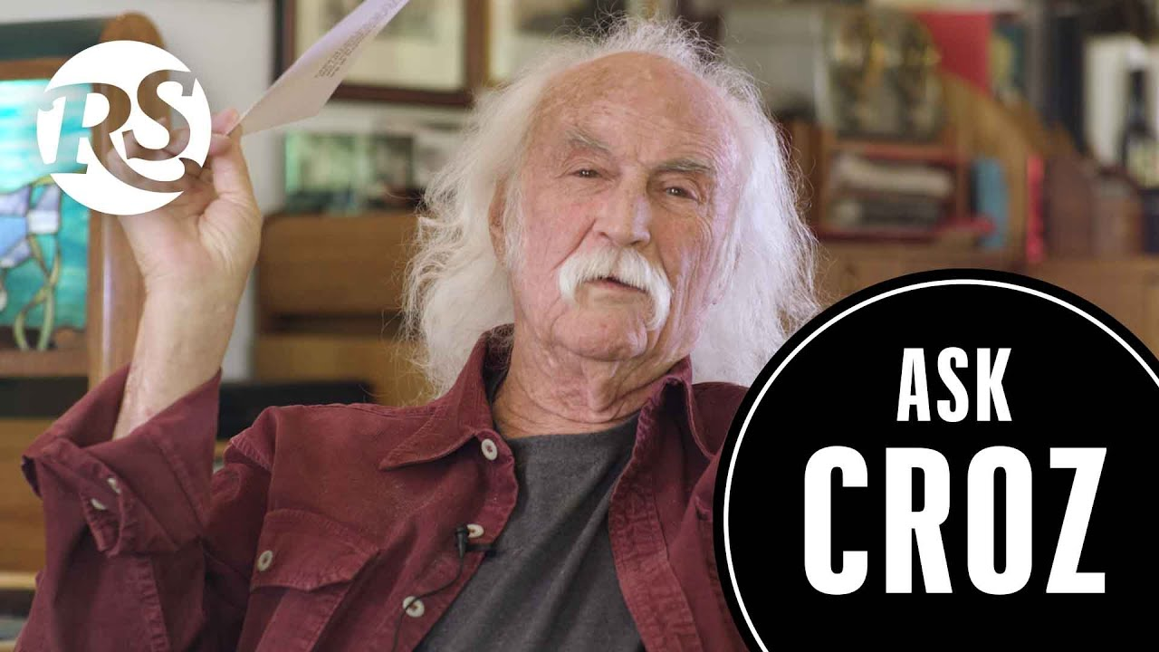 David Crosby Answers Your Questions on Edibles, Beatles vs Stones | Ask Croz