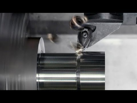 All directional rough machining demo - CoroTurn® Prime B-type