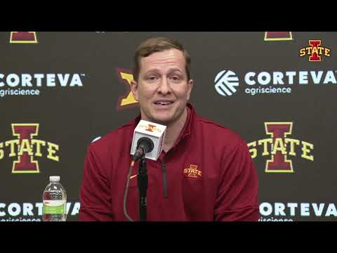 T.J. Otzelberger's introductory press conference as Iowa State head men's basketball coach