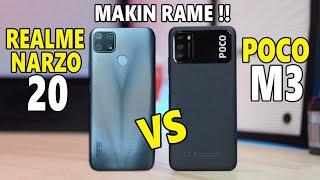 Poco M3 vs Realme Narzo 20 Indonesia | PILIH MANA?
