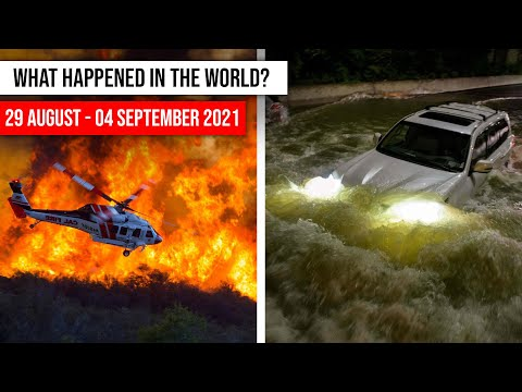 NATURAL DISASTERS this week from 29 August- 04 September 2021 Climate changе! flood, hail storm