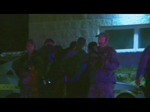 Video shows Eric Matthew Frein taken into custody