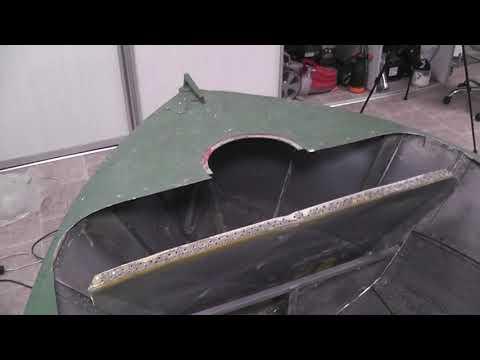 Крутая лодка из ничего. Тюнинг алюминиевой лодки МКМ в 2019 своими руками, режем лодку.